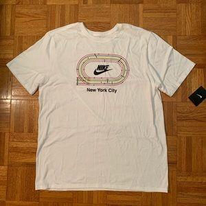 Nike Sportswear SoHo Track NYC Subway Lines Tee